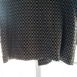 Vintage Jackets & Coats - Vintage Checkered Blazer